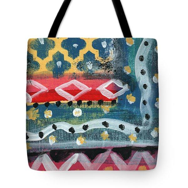 Fiesta 4- Colorful Pattern Painting Tote Bag