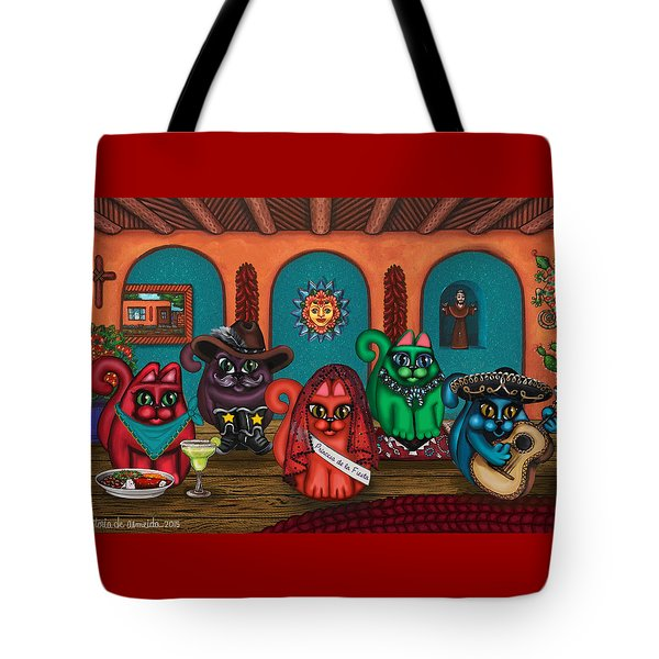Fiesta Cats II Tote Bag
