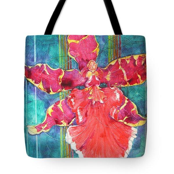 Fiesta Orchid Tote Bag