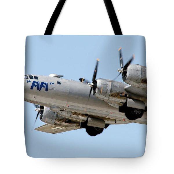 Fifi In Flight Tote Bag