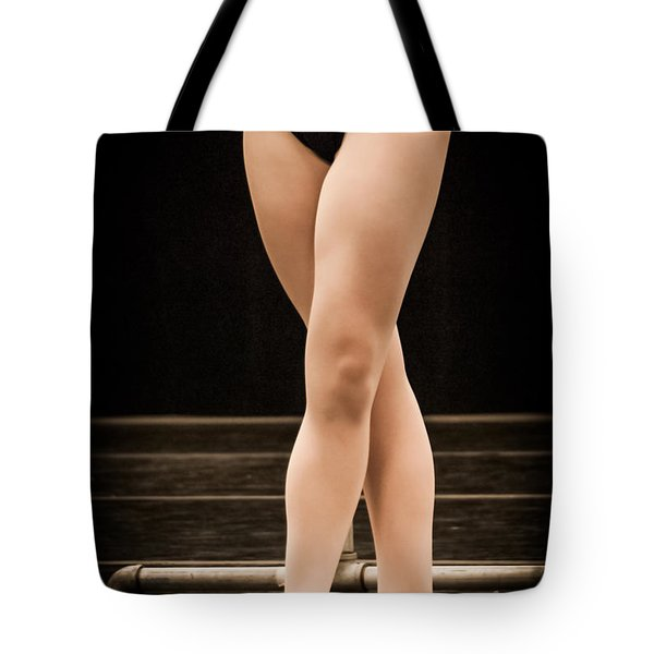 Tote Bag featuring the photograph Fifth Position by Dee Dee  Whittle