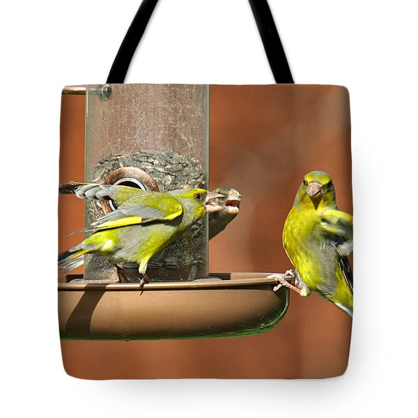 Fight For Food Tote Bag