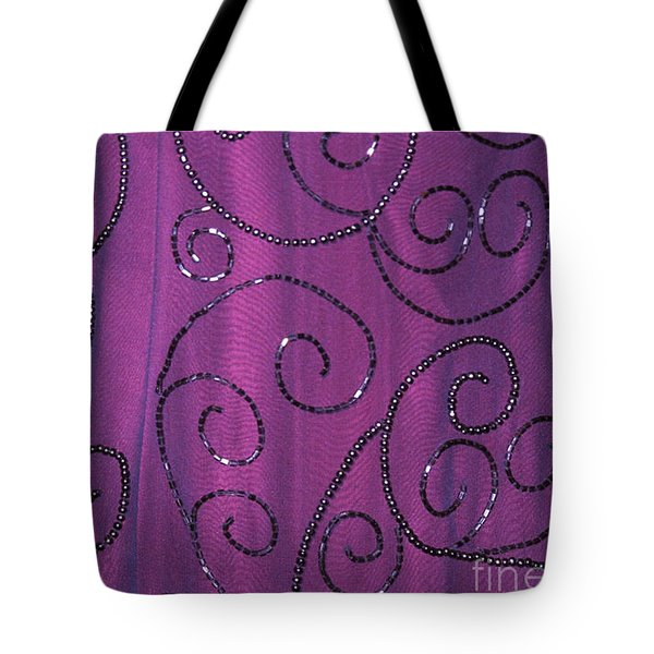 Fighting Sequins Horizontal Tote Bag