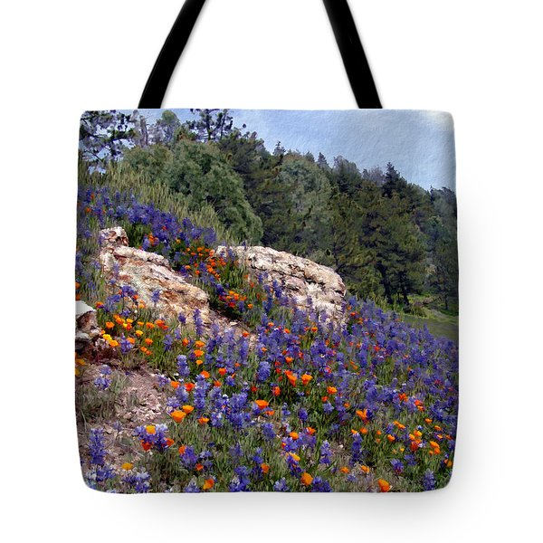 Figueroa Mountain Splendor Tote Bag by Kurt Van Wagner