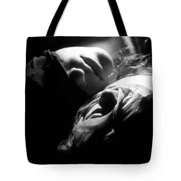 Figure #nobody Tote Bag by Taylan Apukovska