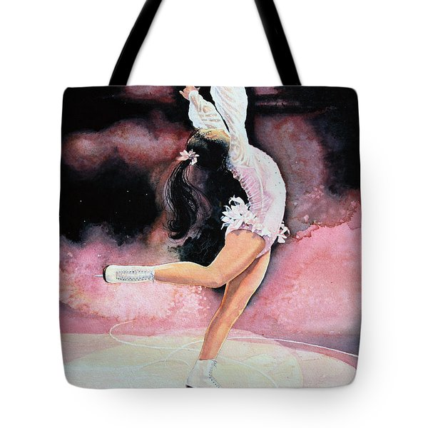 Figure Skater 20 Tote Bag