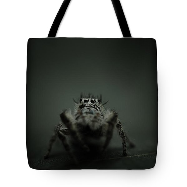 Filbert The Jumping Spider Tote Bag