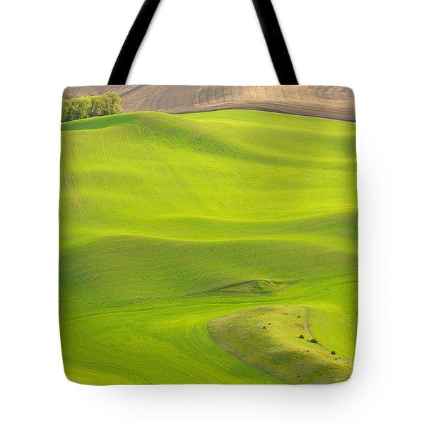 Fileds Of The Palouse Tote Bag
