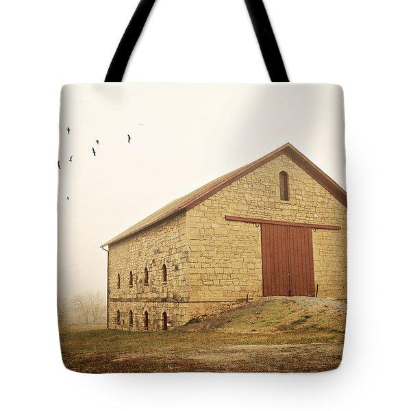 Filley Stone Barn 1 Tote Bag