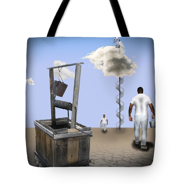 Filling Station Tote Bag