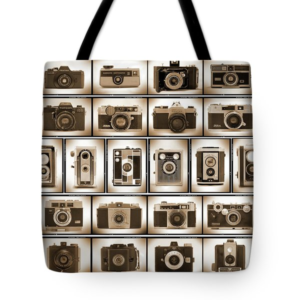 Film Camera Proofs Tote Bag by Mike McGlothlen