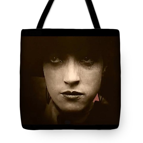 Film Homage Billy Bitzer Miriam Cooper Intolerance 1916 Screen Capture Color Added 2012 Tote Bag by David Lee Guss