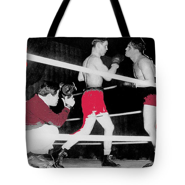 Film Noir Cinematographer James Wong Howe John Garfield Body And Soul 1947 Color Added 2013 Tote Bag