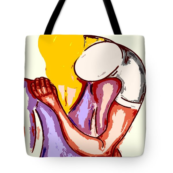 Final Embrace Tote Bag by Patrick J Murphy