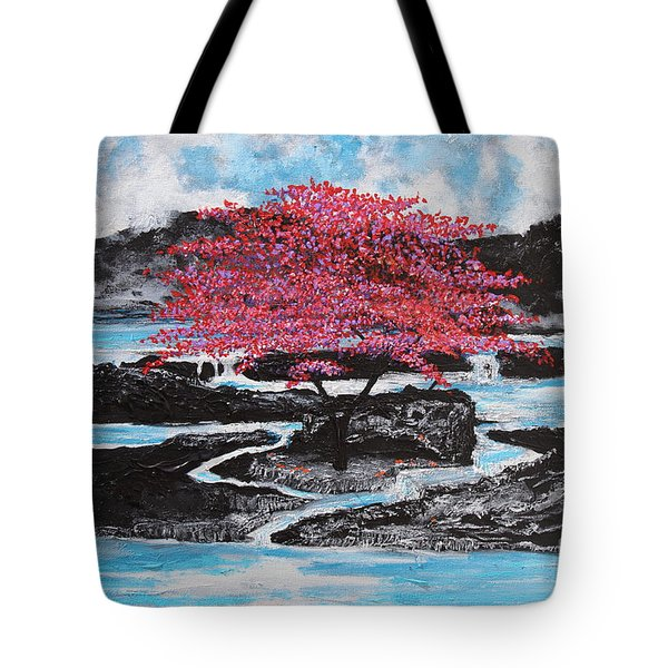 Finding Beauty In Solitude Tote Bag
