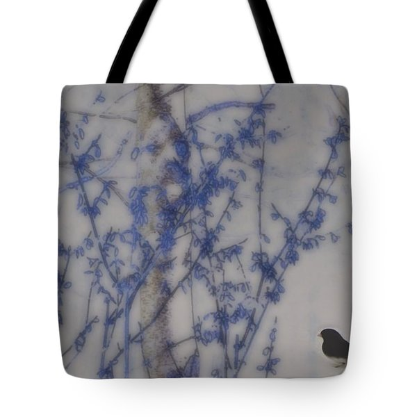 Finding His Way Tote Bag by Barbara S Nickerson