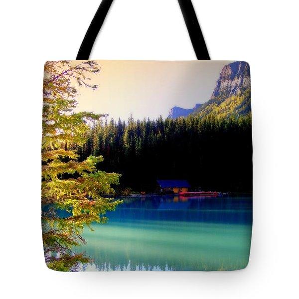 Finding Inner Peace Tote Bag by Karen Wiles