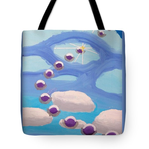 Finding Personal Peace Tote Bag