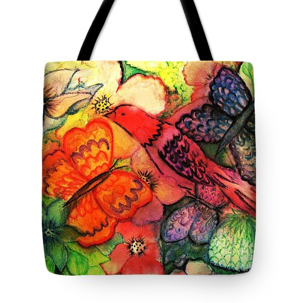 Finding Sanctuary Tote Bag by Hazel Holland