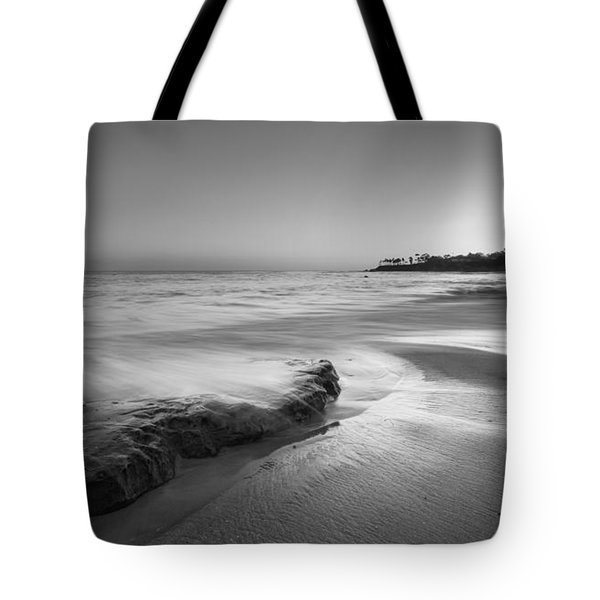 Finding Serenity Bw Tote Bag by Michael Ver Sprill