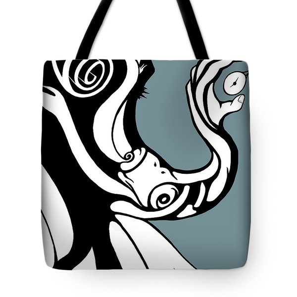 Finding Time Tote Bag