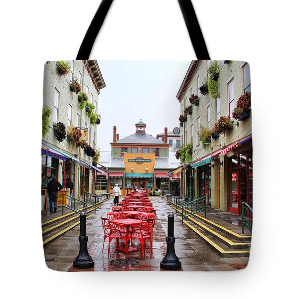 Findlay Market In Cincinnati 0003 Tote Bag