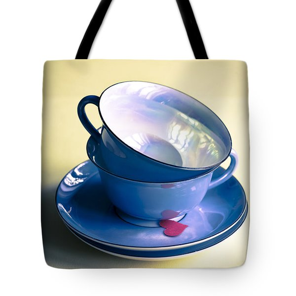 Fine China Tote Bag by Jan Bickerton