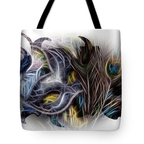Fine Feathered Fantasy Tote Bag by Cindy Nunn