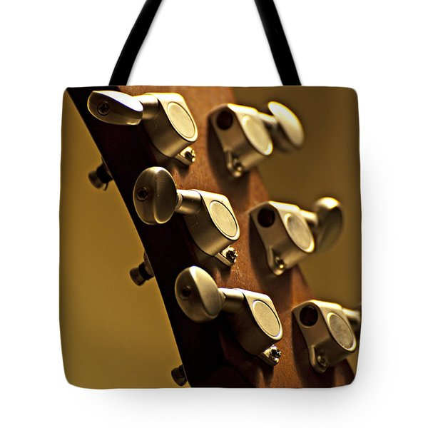 Finely Tuned Tote Bag by Christopher Gaston