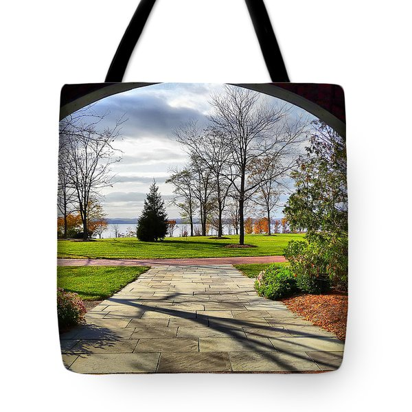 Finger Lakes View From Mackenzie Childs  Tote Bag