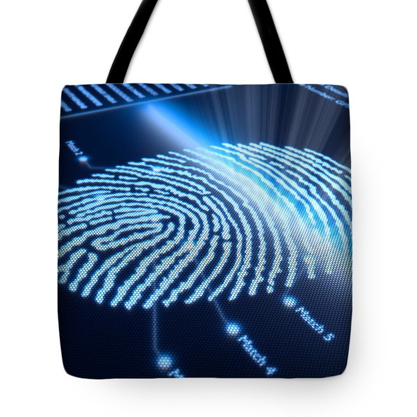 Modern Scanning Technology Tote Bag