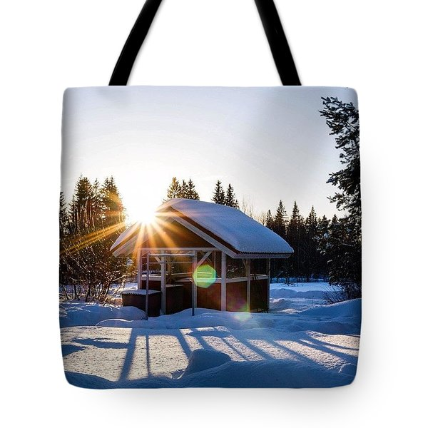 Finland Is Beautiful Tote Bag