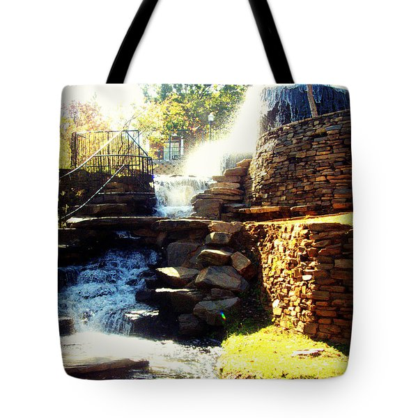 Finlay Park Fountain Tote Bag
