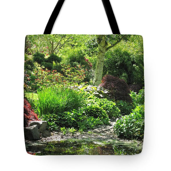 Finnerty Gardens Pond Tote Bag