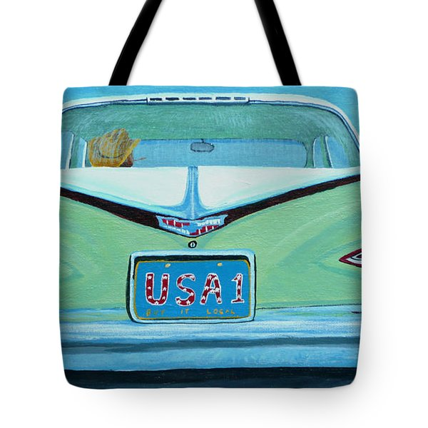 Fins Tote Bag by Anthony Dunphy