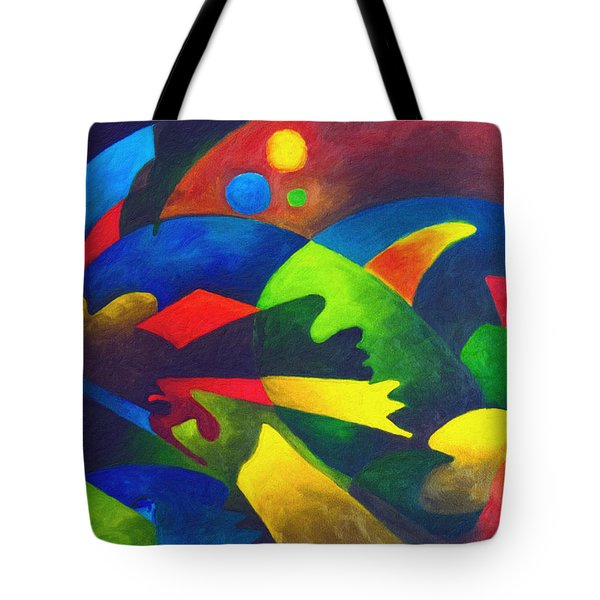 Fins Tote Bag by Sally Trace