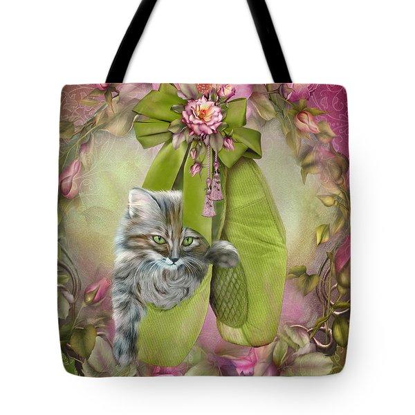 Fiona The Ballerina Tote Bag by Carol Cavalaris