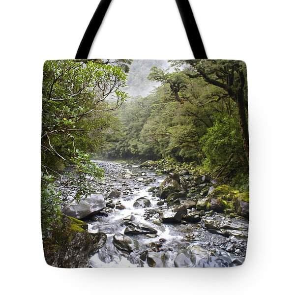 Fiordland National Park New Zealand Tote Bag
