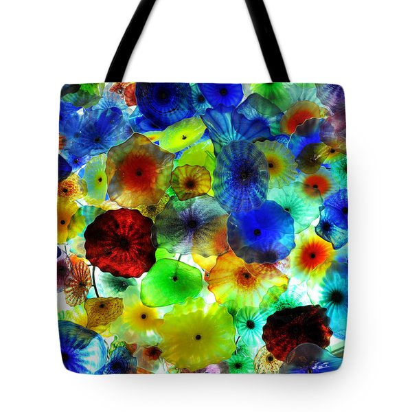 Fiori Di Como By Glass Sculptor Tote Bag by Gandz Photography