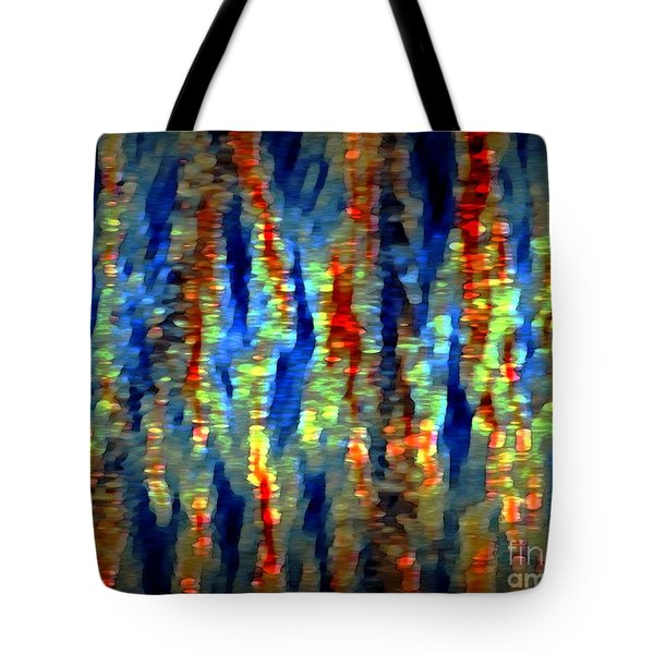 Fire And Rain Tote Bag