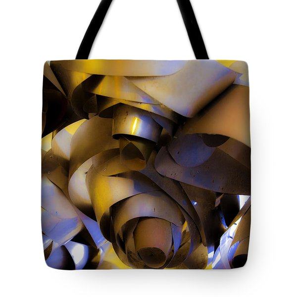 Fire And Steel Tote Bag by Raymond Kunst