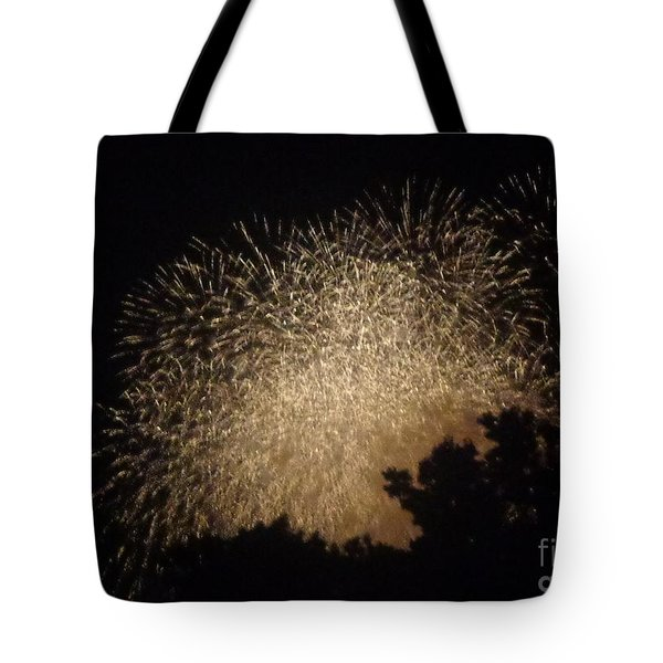 Fire Art Tote Bag by Christina Verdgeline