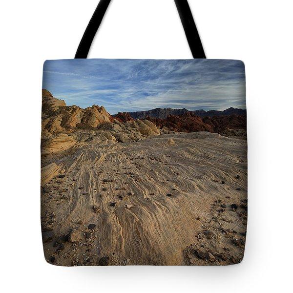 Fire Canyon I Tote Bag