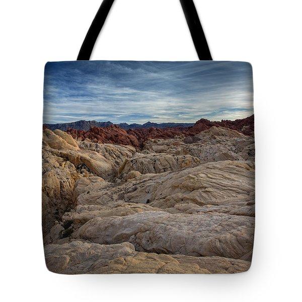 Fire Canyon II Tote Bag