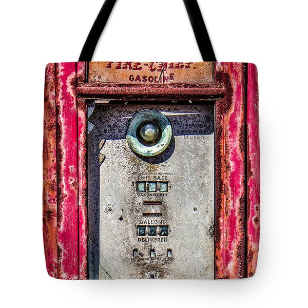 Tote Bag featuring the photograph Fire Chief Gas by Steven Bateson