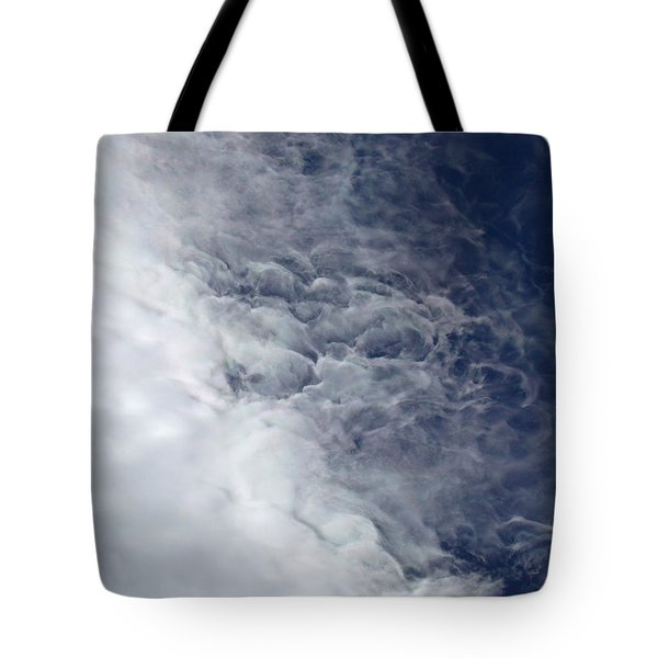 Fire Cloud Tote Bag