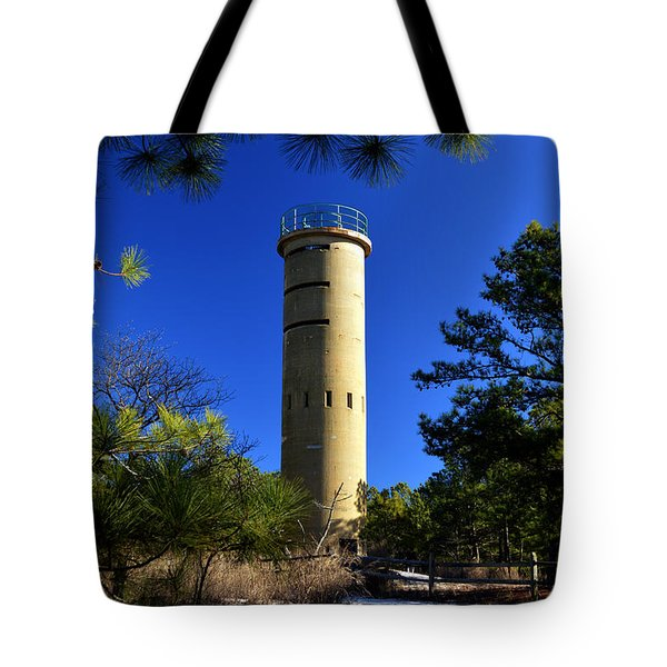 Fct7 Fire Control Tower #7 - Observation Tower Tote Bag