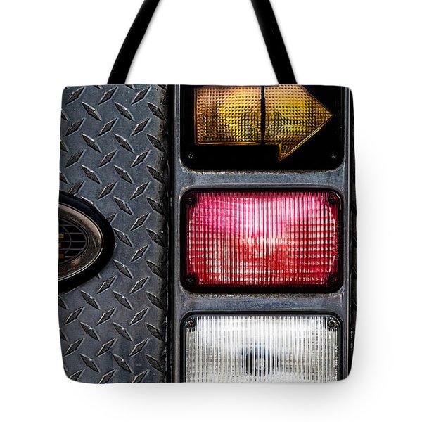 Fire Engine  Tote Bag by Bob Orsillo