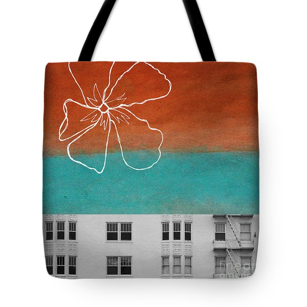 Fire Escapes Tote Bag