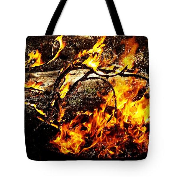 Fire Fairies Tote Bag